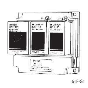 オムロン 61F-G1 AC100/200 フロートなしスイッチ ベースタイプ 空転防止または渇水警報を兼ねた自動給水