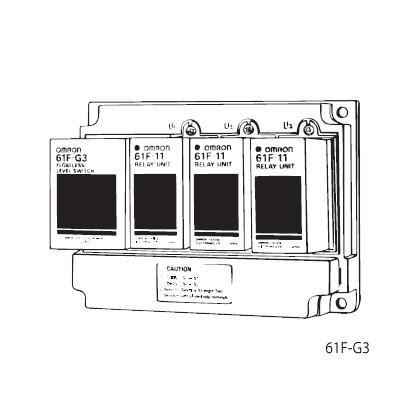 在庫品 オムロン 61F-G3 AC100/200 フロートなしスイッチ ベースタイプ 満水・渇水警報を兼ねた自動給・排水