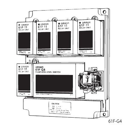 在庫品 オムロン 61F-G4 AC100/200 フロートなしスイッチ ベースタイプ 給水槽と受水槽の水位表示と渇水による空転防止を兼ねた自動給水