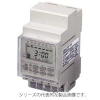 オムロン H5F-KA 協約寸法タイプ AC100~240V50/60Hz(共用) 有接点1aAC250V15A 端子台 表面/DINレール取りつけ デジタル・デイリータイムスイッチ