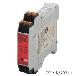 在庫品 オムロン G9SX-NS202-RT DC24 非接触式ドアスイッチコントローラ 安全出力(瞬時2/オフディレー0) 補助出力2 論理接続(入力1/出力1) ねじ式端子台