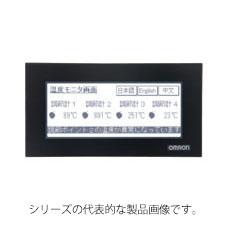 在庫品 オムロン NV4W-MR21 プログラマブルターミナル 画面4.6インチ(TFTモノクロ)320×120ドット RS-232C バックライトLED3色 (白/ピンク/赤) 定格電源DC24V