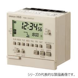 在庫品 オムロン H5S-WB2 72×72mm AC100~240V 週間2chタイプ 英文表記 埋込み取りつけ デジタル・タイムスイッチ