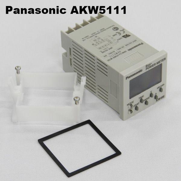 パナソニック AKW5111 KW4M エコパワーメータ DIN48タイプ 通信プロトコル:MEWTOCOL ねじ端子