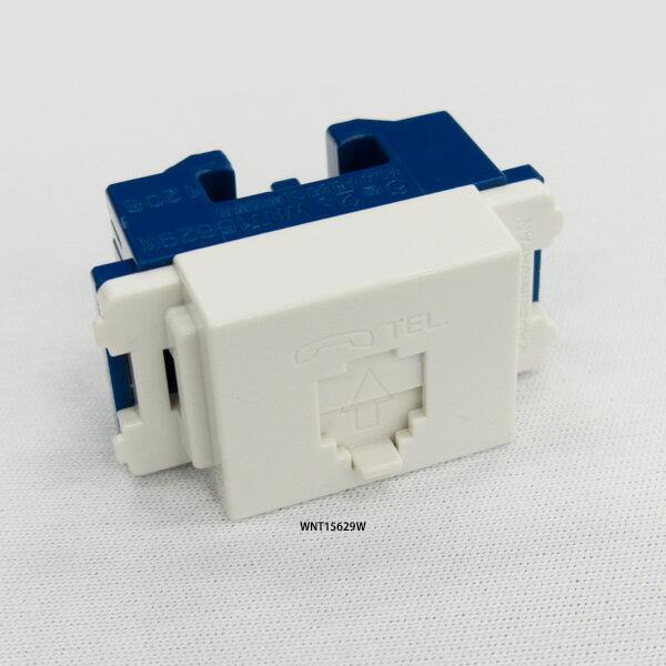日本メーカー新品 パナソニック WNT15629W 埋込テレホンモジュラジャック フル端子 ホワイト 6極2心 キャンペーンもお見逃しなく
