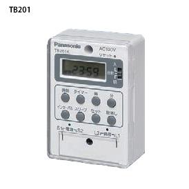 パナソニック TB20101K 春の新作続々 ボックス型電子式タイムスイッチ AC100V用 新作 大人気 24時間式タイムスイッチ 1回路型 別回路