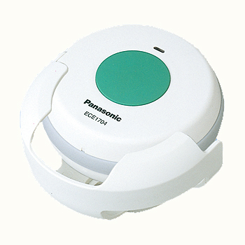 新作続 パナソニック ECE1704P 小電力型ワイヤレスコール浴室発信器 人気ブランド ホルダー付 単4乾電池x2個別売