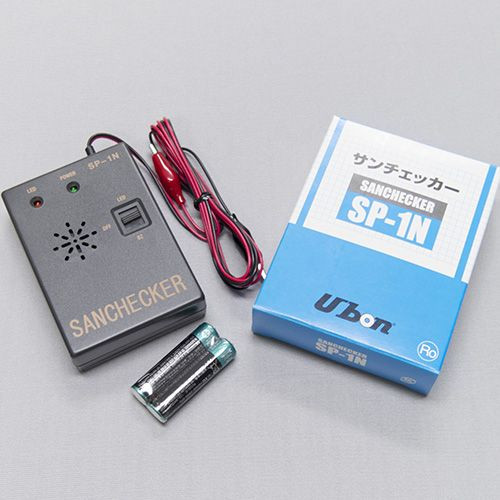 ユーボン SP-1N 導通チェッカー 単4電池 5☆大好評 配線チェック 2本を同梱 出群 接点チェックが簡単にテストできます