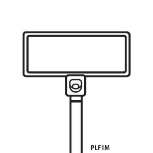 パンドウイット PLF1M-M ナイロン66 結束バンド マーカータイプ 全長109mm 巾2.5mm 1000本入り