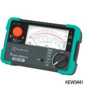 在庫品 共立電気計器 KEW 3441 絶縁抵抗計 (125V/250V/500V/1000V)