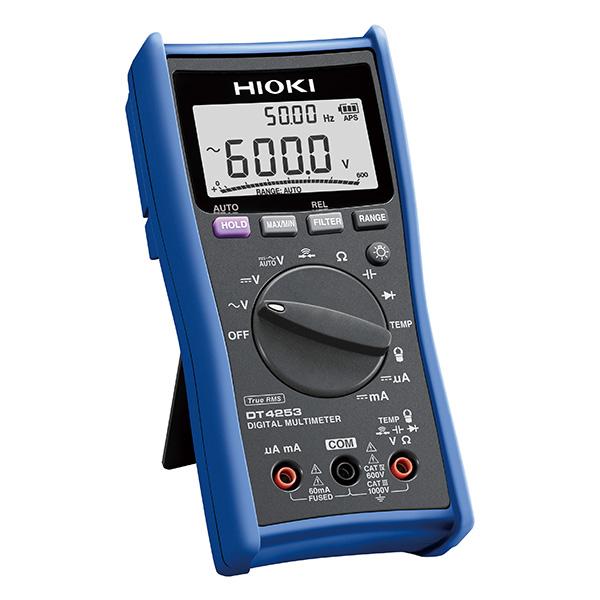 日置電機 HIOKI DT4253 デジタル マルチメータ 計装4-20mA 計装用DCmA 温度レンジ搭載