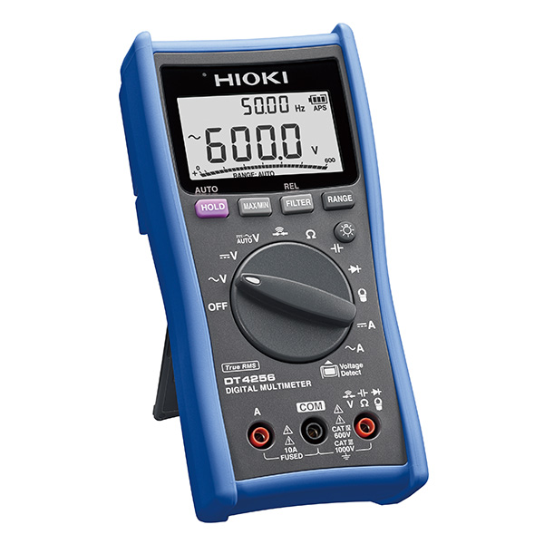 日置電機 HIOKI DT4256 デジタル マルチメータ 最多機能搭載 10A端子搭載汎用タイプ