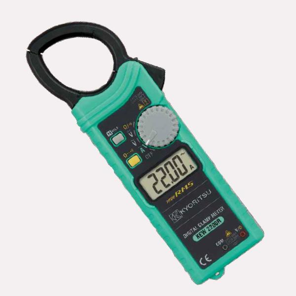 共立電気計器 KEW2200R キュースナップ 交流電流測定用クランプメータ 実効値タイプ 被測定導体径 最大φ33mm