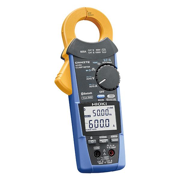 日置電機 HIOKI CM4372 AC/DC クランプメータ スマートフォンにデータ送信、使用環境を気にしないタフなAC/DC 600 A