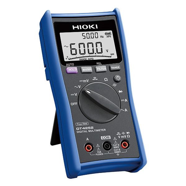 日置電機 HIOKI DT4252 デジタル マルチメータ ラボ・研究向 10A端子搭載汎用