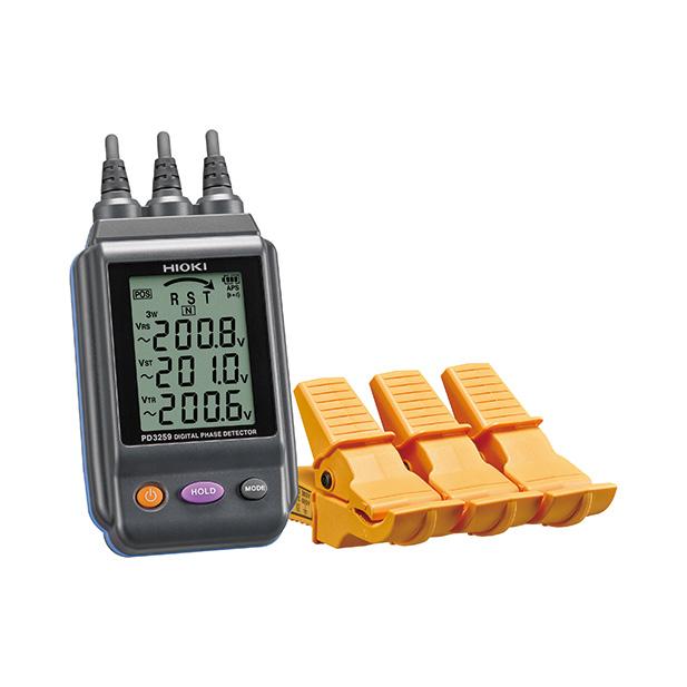 在庫品 日置電機 HIOKI PD3259 電圧計 付 検相器