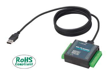 全商品オープニング価格 コンテック DIO-0808LY-USB 直営限定アウトレット 絶縁型デジタル入出力ターミナル USB2.0対応