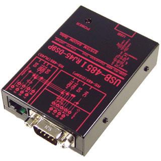 在庫品 システムサコム USB-485I RJ45-DS9P USB(COMポート)⇒RS485絶縁変換器 Dsub9P仕様