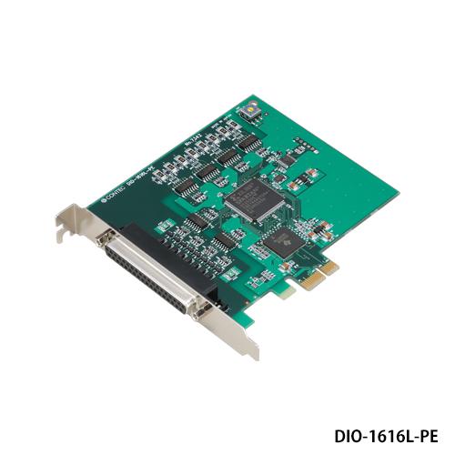 コンテック DIO-1616L-PE PCI Express対応 絶縁型デジタル入出力ボード
