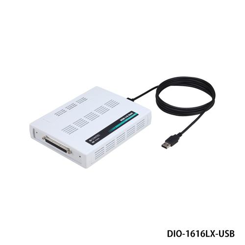 コンテック DIO-1616LX-USB USB I/Oユニット Xシリーズ 絶縁型デジタル入出力ユニット