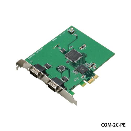 コンテック COM-2C-PE RS-232Cシリアル2ch PCI Express対応拡張ボード