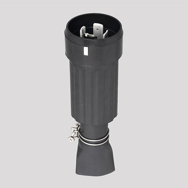 在庫品 アメリカン電機 41022RW 接地形3P 100A 250V 防水形プラグ(引掛形)
