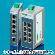 在庫品 フエニックス・コンタクト FL SWITCH SFNB 8TX 産業用EtheRnet アンマネージド・スイッチ イーサネwットRJ45 ポート数8 オートネゴシエーションおよび自動交差 RJ45ツイストペアによるイーサネット 10・100Mbit/s 電源DC24V DINレール取付 PHOENIX CONTACT