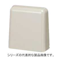 日東工業 OSLP-2A (2コ入) フード付角形ルーバー 175x183x60mm ライトベージュ色