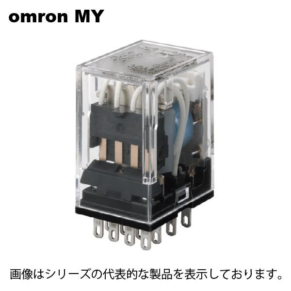 オムロン 祝開店大放出セール開催中 MY4 超定番 DC12 基本形 MYリレー4C