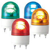 RHEB-100-R パトライト LED回転灯 φ100 ブザー付き AC100V 赤