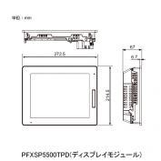 在庫品 シュナイダー(PROFACE) PFXSP5500TPD 10型TFTカラーLCDプログラマブル表示器 DC12~24V USB 2.0(Type A)、USB 2.0(mini-B)