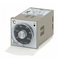 在庫品 オムロン E5C2-R20G AC100-240 0-100 48×48mm リレー出力サーミスタ入力 温度調節器(アナログ設定)