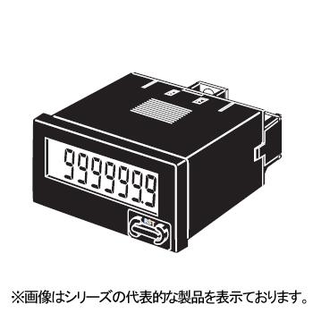 永遠の定番モデル オムロン H7EC-NFV-B 爆売り 小型トータルカウンタ 48×24mm 8桁 電圧入力AC DC24~240V リセットキー 停電記憶 20Hz 加算 ねじ締め端子 ブラック