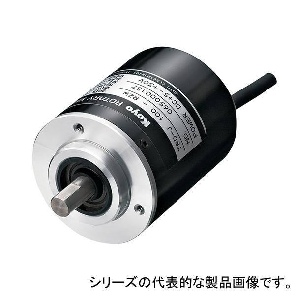 在庫品 光洋電子工業 TRD-J100-RZ ロータリーエンコーダ 二相原点付出力(原点正動作)パルス数100
