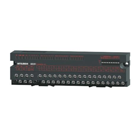 在庫品 三菱電機 AJ65SBTB1-32T CC-Link小形タイプリモートI/Oユニット トランジスタ出力(シンクタイプ)32点 定格負荷電圧DC12/24V 32点1コモン 端子台タイプ