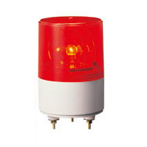 パトライト RS-100-R 超小型回転灯Φ82 AC100V(赤)