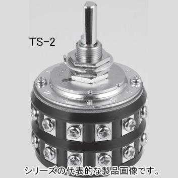 NKKスイッチズ TS-4 端子ねじ 4回路2~11接点 電流容量抵抗負荷AC125V6A 多段式小型ロータリスイッチ