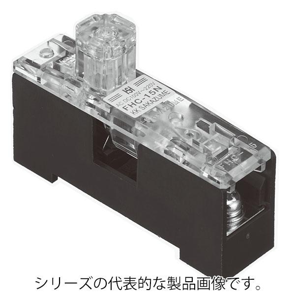 ユーボン FHC-15-U 至上 本日限定 ガラス管ヒューズ用ヒューズホルダー