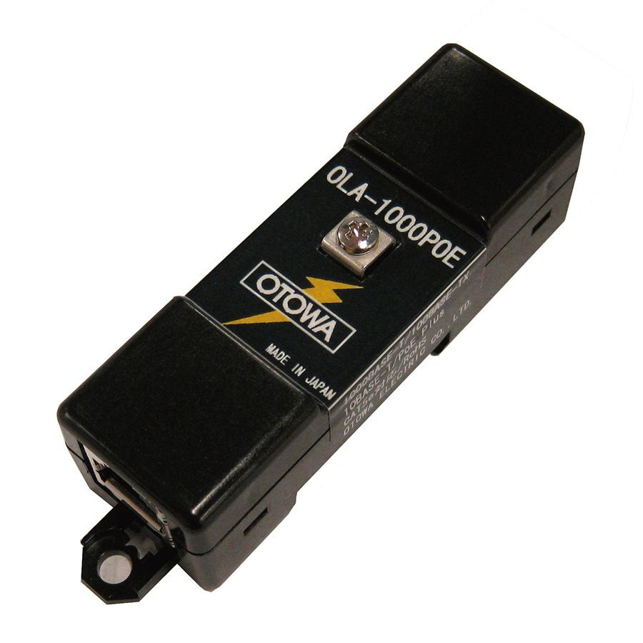 音羽電機工業 OLA-1000POE 雷プロテクタLAN用