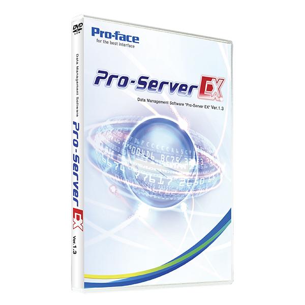 シュナイダー(PROFACE) PFXEXSDVV13 データ収集の決定版 Pro-Server EX 対応機種数3000機種以上で現場の各装置のデータ収集(見える化)もこのソフト1本で解決
