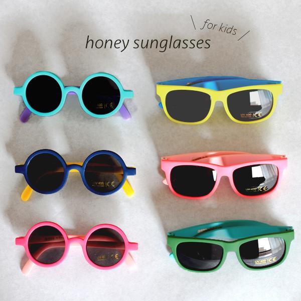 キッズ用UVカットサングラス ※UV400カット仕様 キッズ サングラス 定番から日本未入荷 子供用 amabro sunglasses uvカット キッズサングラス キッズ用 紫外線 honey 激安通販販売