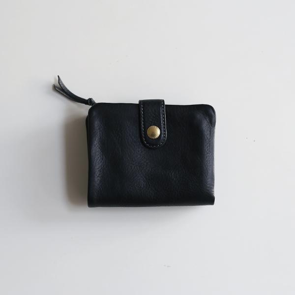 CINQ(サンク) 2つ折り財布(ブラック)