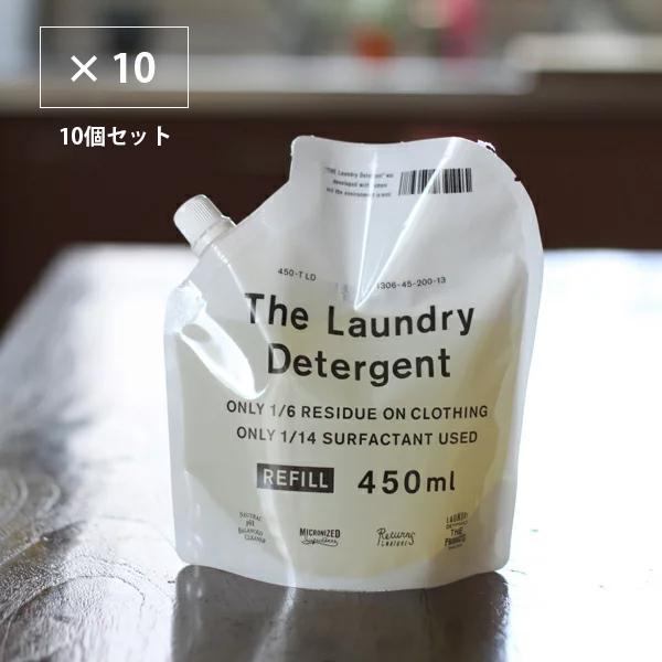 【送料無料】THE 洗濯洗剤 詰替用 10本セット 詰め替え 450ml THE LAUNDRY DETERGENT REFILL   中川政七商店
