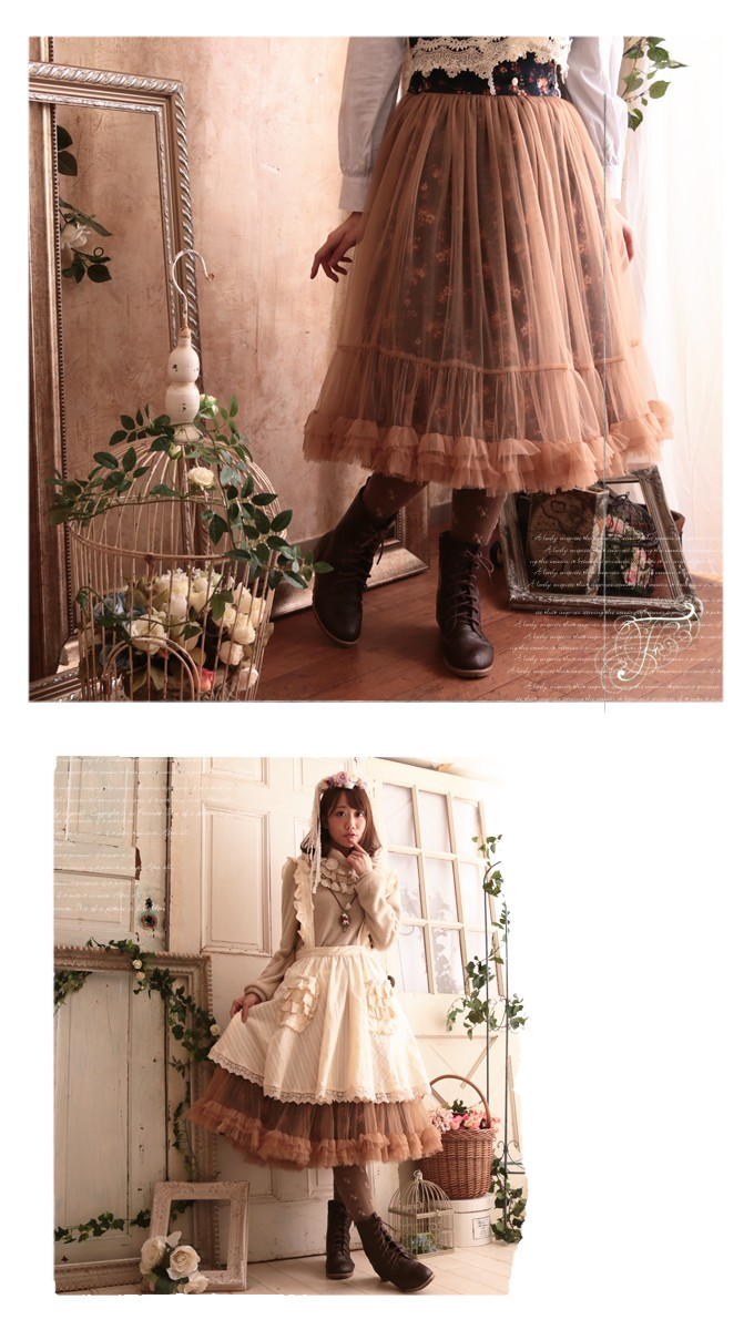 0d1b7e324d ... Fairy skirt cotton tulle tulle skirt * Favorite original * fluffy tulle  with fairy-tale