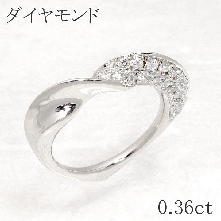 天然 ダイヤモンド ダイヤモンド ダイヤ Pt900 リング ペンダントヘッド D0.36ct 新品 diamond