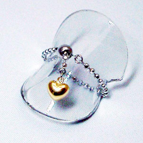 送料無料 オープン記念特別ご提供品 1点限りです K18 ホワイトゴールド 蔵 ハート 新品未使用正規品 リング Love イエローゴールド Piece