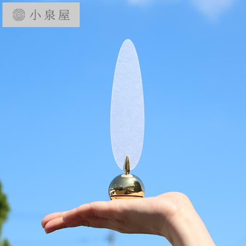小泉屋 KOIZUMIYA 卓上風鈴 ゆらりん 真鍮 ワーロン スタンド型 卓上 風鈴 日本製