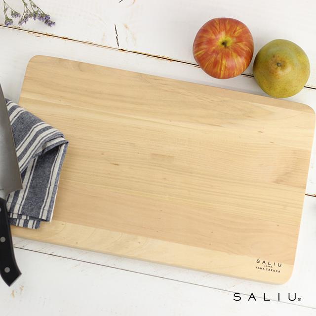 SALIU TSUKECHI 山桜 まないた 大 31601(まな板 木 おしゃれ 木製 大きいサイズ 国産 木のまな板 人気 大きめ おすすめ 大きい ブランド デザイン プレゼント)