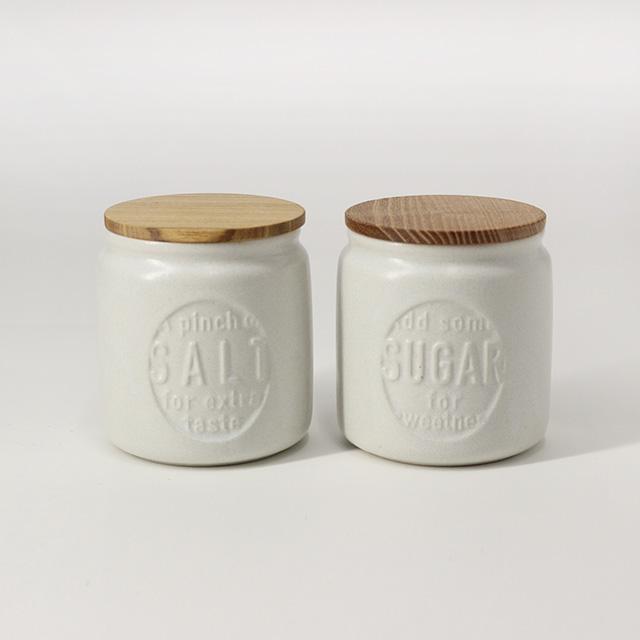 楽天市場】SALIU キャニスター BS03 2個セット(おしゃれ 陶器 セット ...