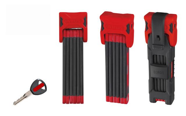 ピストバイク ロック ABUS Bordo 6000 900mm RED アブス ボルト 6000 900mm レッド PISTBIKE